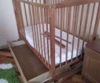 Ліжечко з матрацом